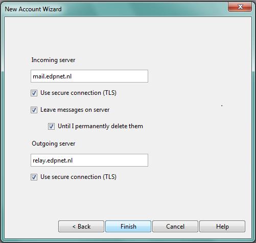 Hoe stel ik Opera Mail in voor mijn edpnet e-mailadres